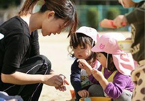 【和泉市 認可】マイカー通勤OK☆駐車無料!食育で栄養管理バッチリな給食も食べられます☆
