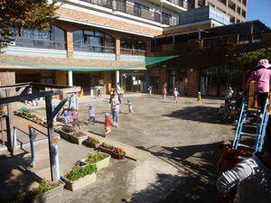 [経堂 認可]園児定員109名★広い園庭あり!駅近で通勤便利な保育園です